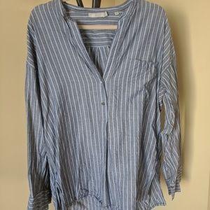 Vince Women's Blouse / Tunic Striped